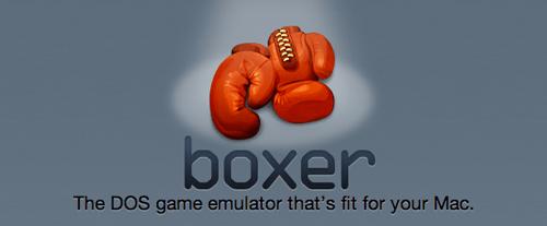Boxer App, l'émulateur DOS sur votre mac