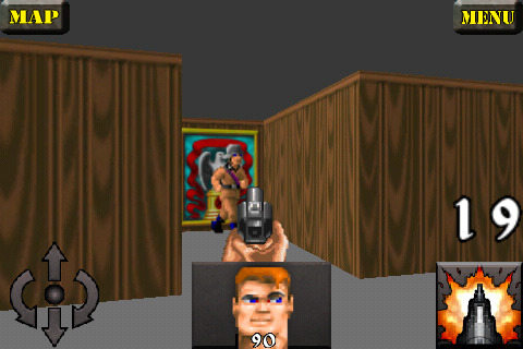 Wolfenstein 3d sur iPhone